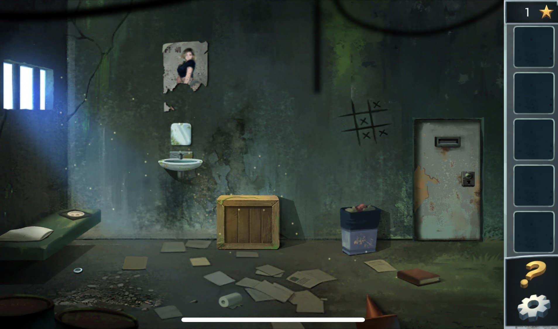 Головоломка: побег из тюрьмы, порадует Вас отличной графикой, каверзным и нестандартным прохождением игры.