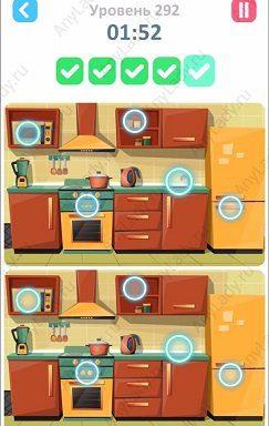 292 уровень Tap Tap Differences Ответ