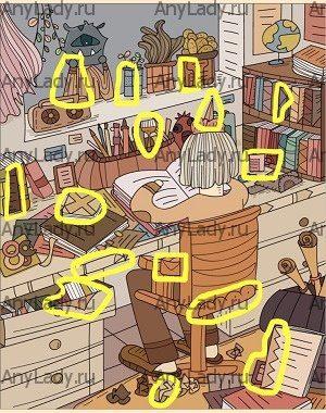 Ответ на Уровень 30 Детектив Скрытые Find out