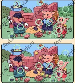 Сюжетный режим игры Find out Животное Уровень 6
