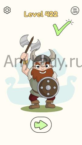 Dop:Draw One Part Ответ Level 422. Настоящему викингу нужна борода.