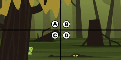 Spot the frog Уровень 2