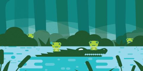 Spot the frog Уровень 3