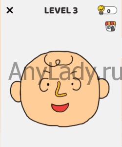 Brain Draw Уровень 3