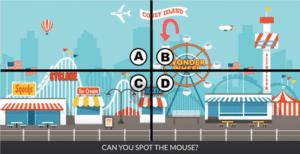 Spot the mouse Уровень 14