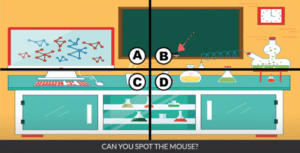 Spot the mouse Уровень 22