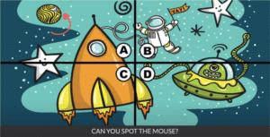 Spot the mouse Уровень 28