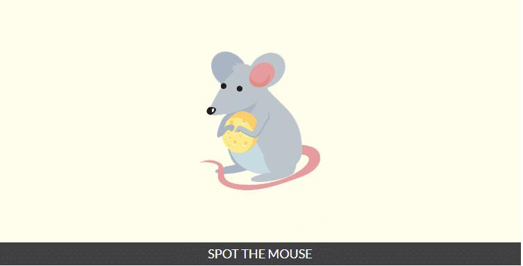 Spot the mouse Ответы