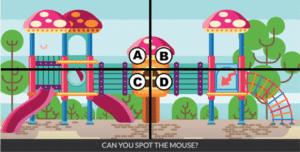 Spot the mouse Уровень 8