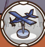 Find out самолет на подставке
