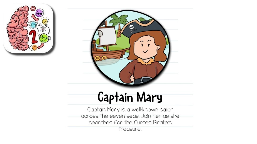 Brain Test 2 Captain Mary Answers